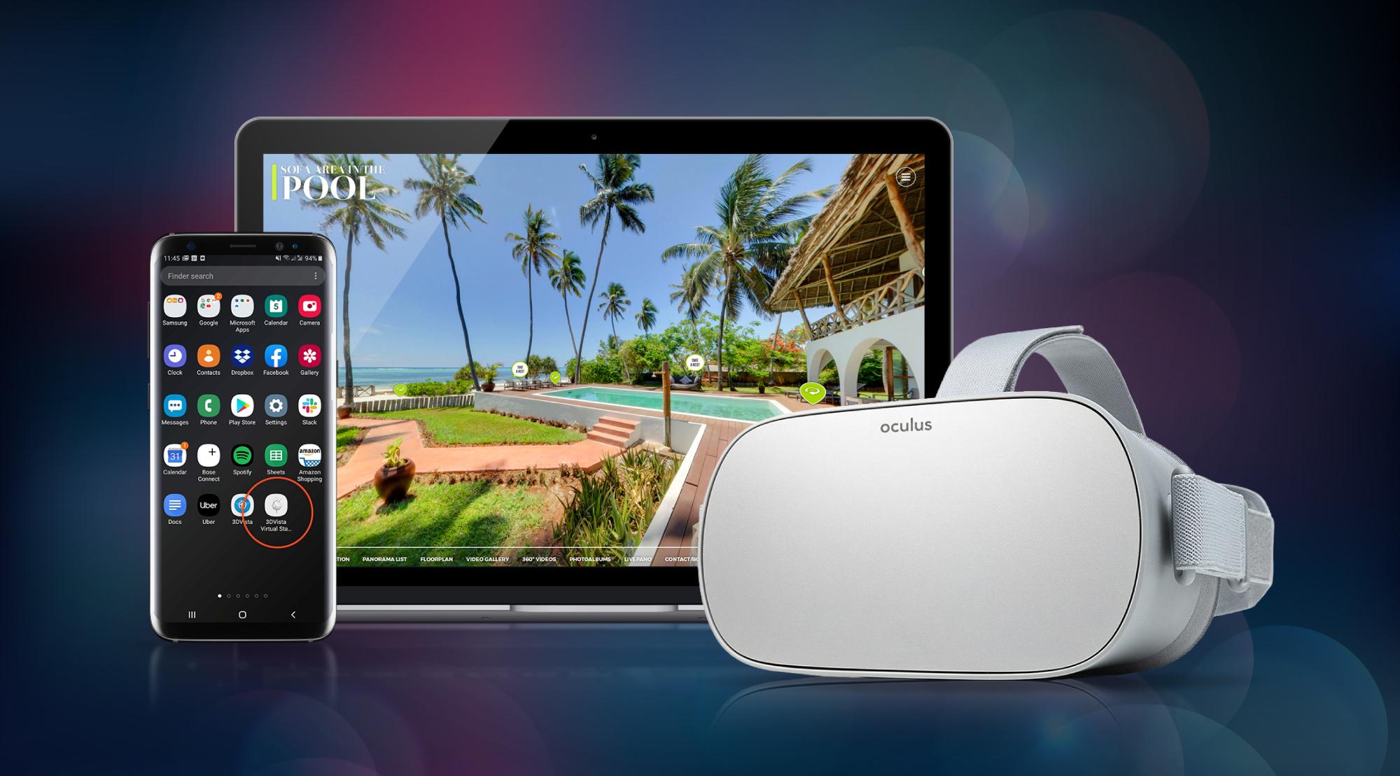 Noticia de estreno: Tours virtuales Offline para Oculus Go & Quest
