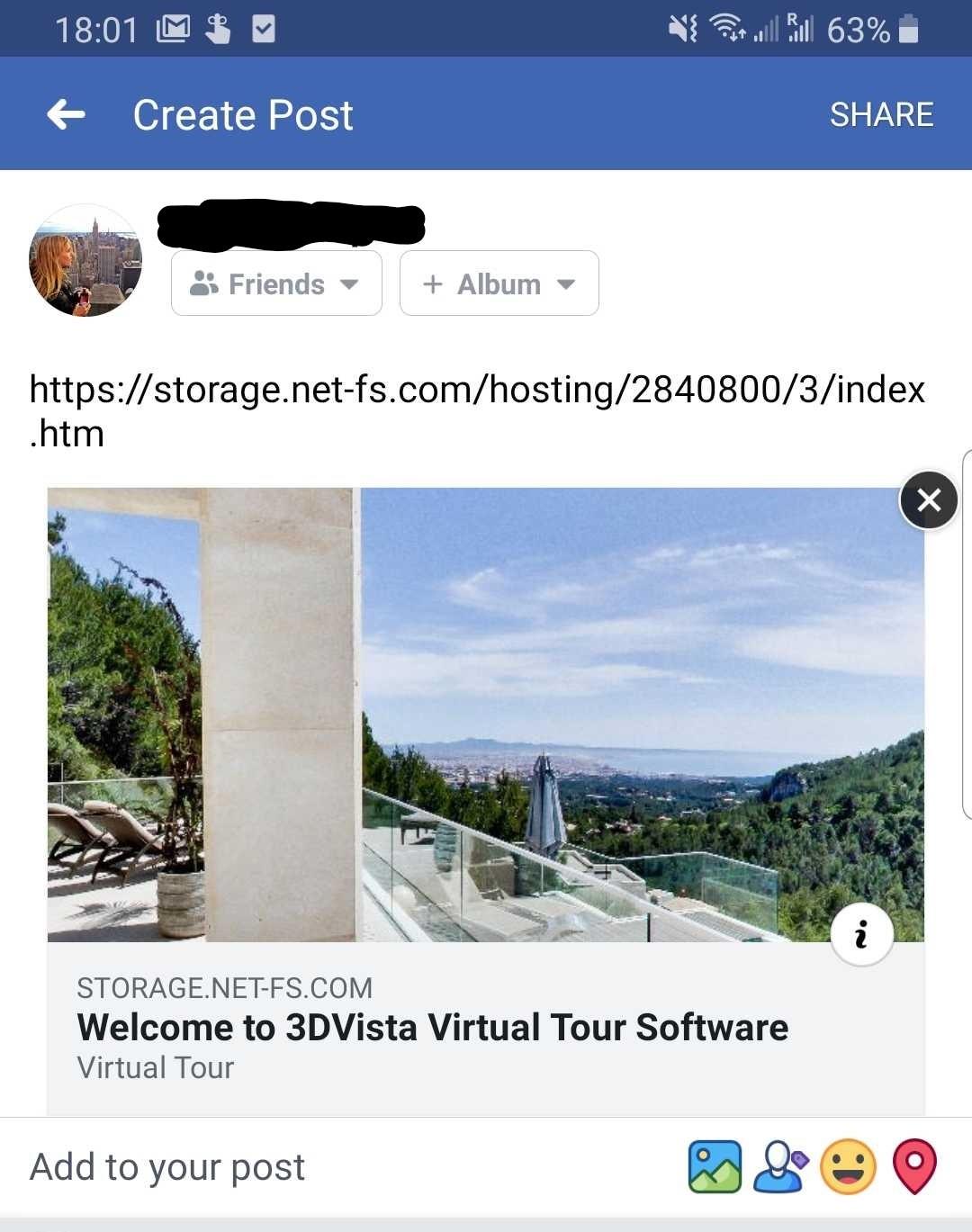 Miniaturas en las redes sociales