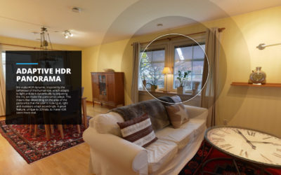 Live & Adaptive HDR Panoramas with 360º Cameras