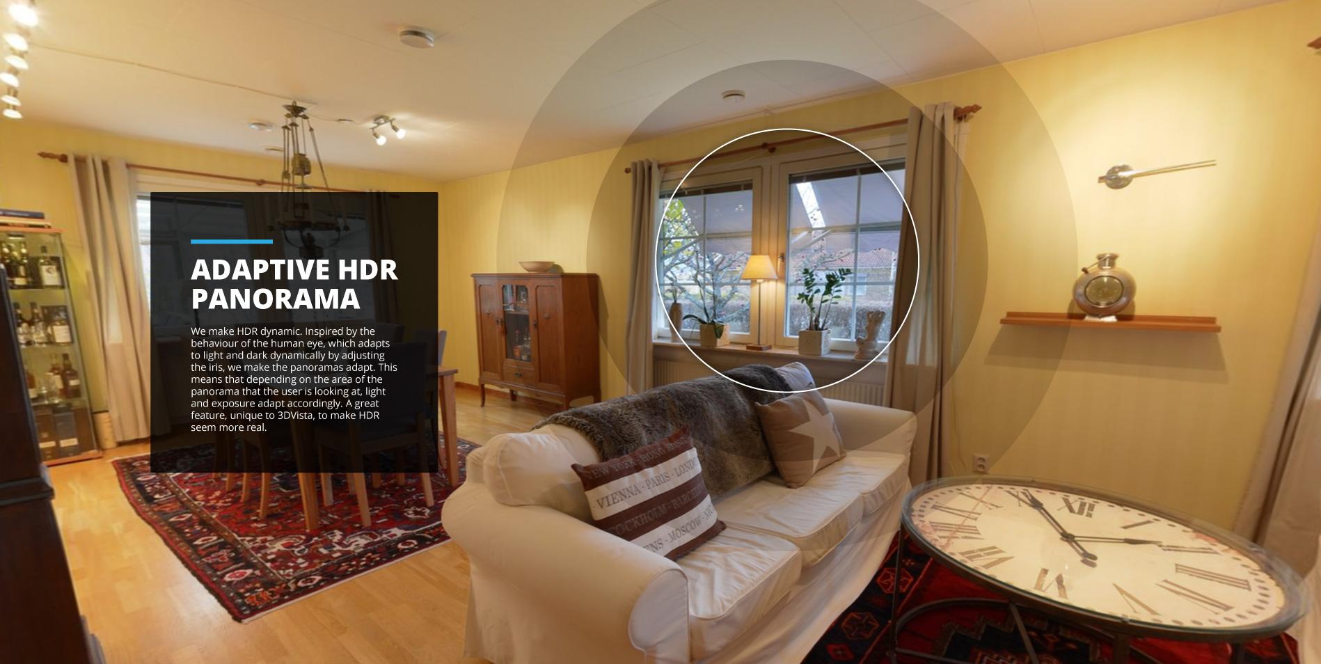 Live Panoramas y Panoramas HDR Adaptativos con Cámaras 360º