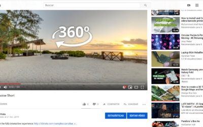 Tours Virtuales en YouTube